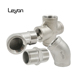 "ss304 ss316l stainless steel BSPT pipe fitting union 1/2"" Tee 3 way Female Stainless Steel 304 Threaded Pipe Fitting"