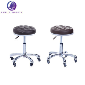 Customized nail beauty salon stool adjustable master chair barber shop stool