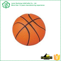 Cheap pu foam mini basketball stress ball