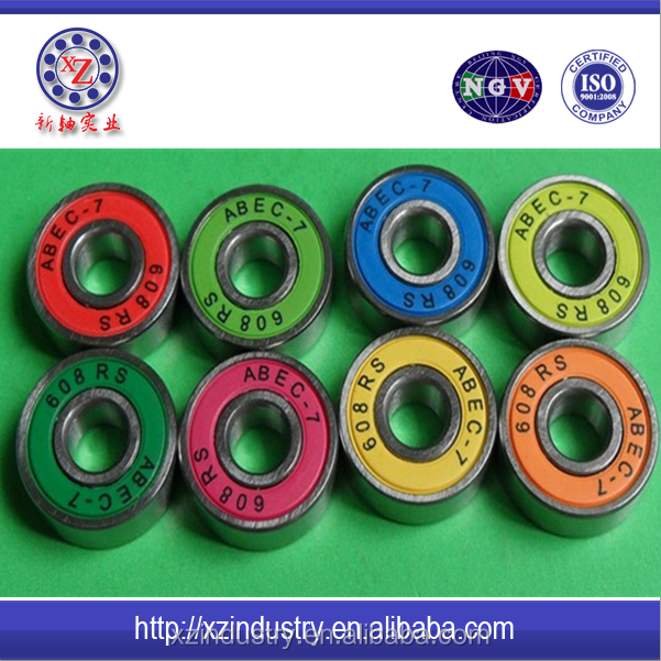 High professional China Golden Supplier Deep Groove Ball Bearing 608 for Penny Board Skateboards
