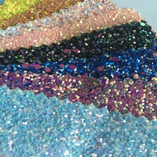 wholesale glitter leather fabric pu synthetic leather