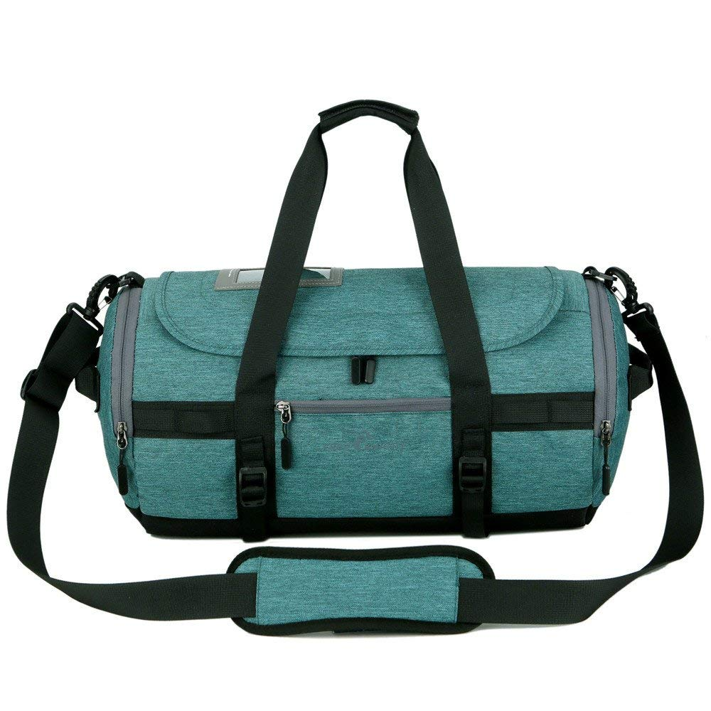 611a23959e Get Quotations · Hulorry Travel Duffle Bag with Shoe Compartment