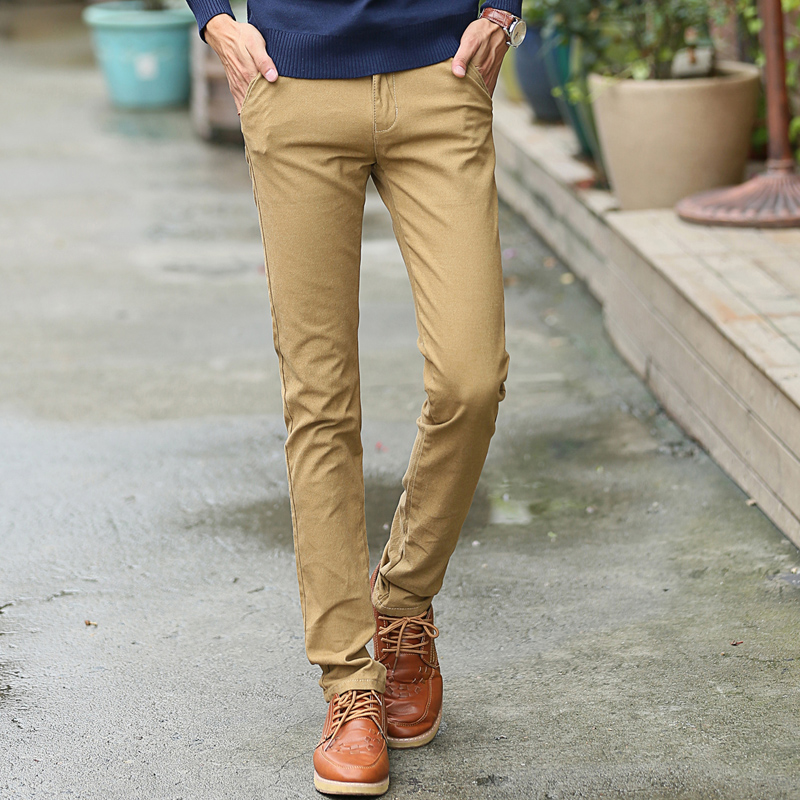 Pair skinny pants for men with a tee-shirt and blazer for an effortless look. Choose casual pieces from Nautica and others. A special occasion requires a special outfit, and men's slim fit pants .