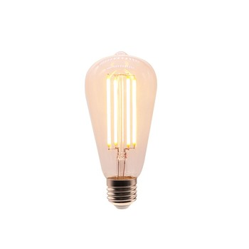 Vintage Style LED Filament Dimmable Edison Bulb ST64 4W Decorative Chandelier Pendant Light