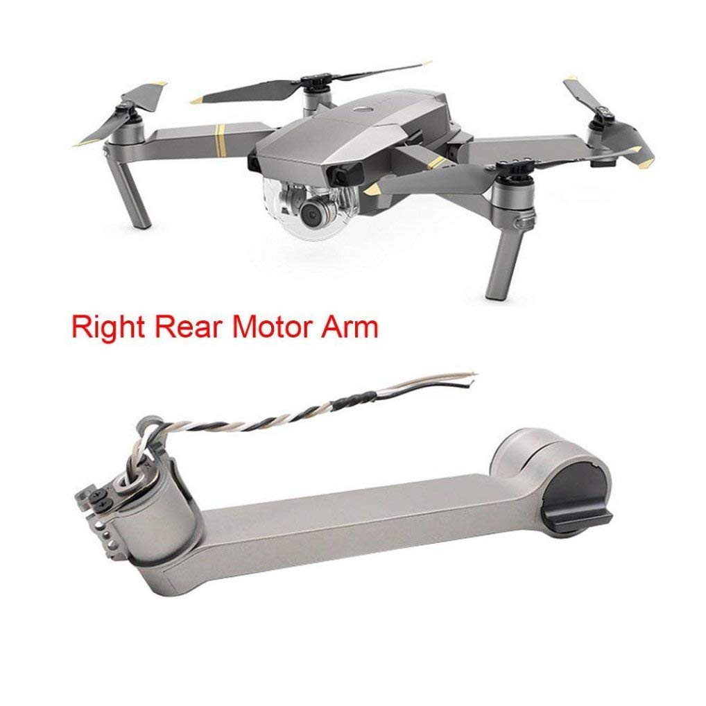 Appoi Left/Right Front Back Motor Arm Repair Parts For DJI Mavic Pro Platinum Left/Right Front/Back Motor Arm