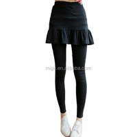 2014 Newest Fake Two Pieces Girls Flouncing Ruffled Skirt Leggings (D025)