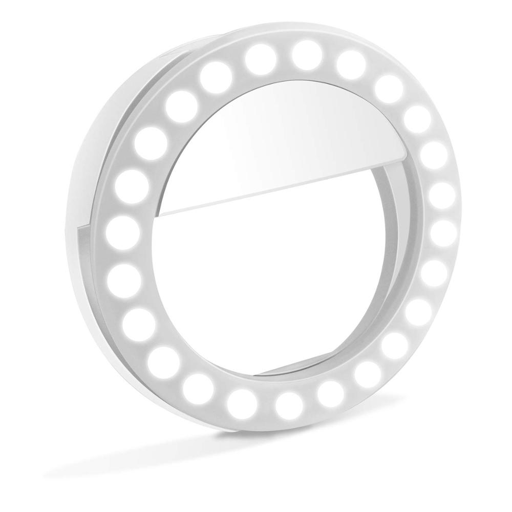Laptop Telefon 36 48 led clip füllen-in Licht selfie ring licht lampe für telefon fotografie kamera video mädchen machen up