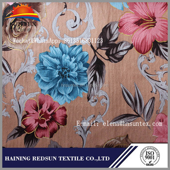 Hot Stamping Fabric Gold Stamp Foil Printing Sofa