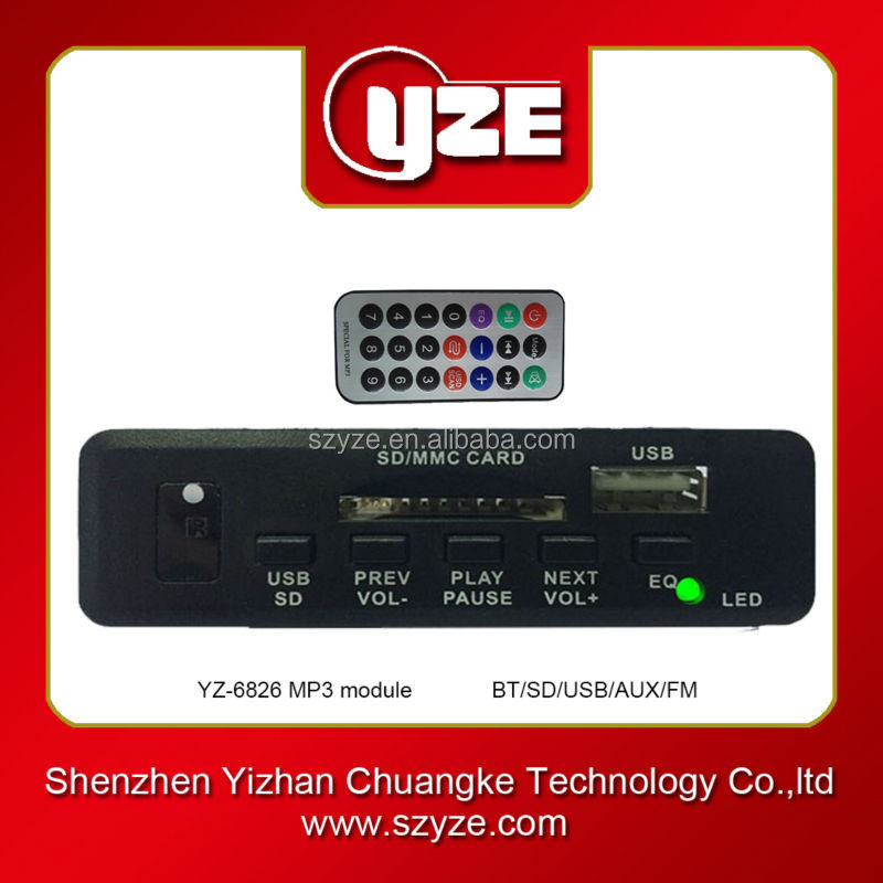 Hot Sale Active Speaker Fm Radio Usb Sd Card Mp3 Player Decoder ...