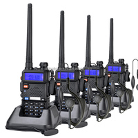 Handy Dual-band VHF UHF Radio Baofeng UV-5R Long Distance Radio Communication