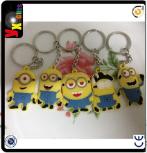 Cheap Key Shaped Personalized Keychains & Promotional Custom Soft Plastic Key Chains