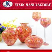 Mosaic color wedding morocco cemetery flower vase