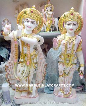White Marble Idol Radha Krishna Statue Buy Marble Radha Krishna