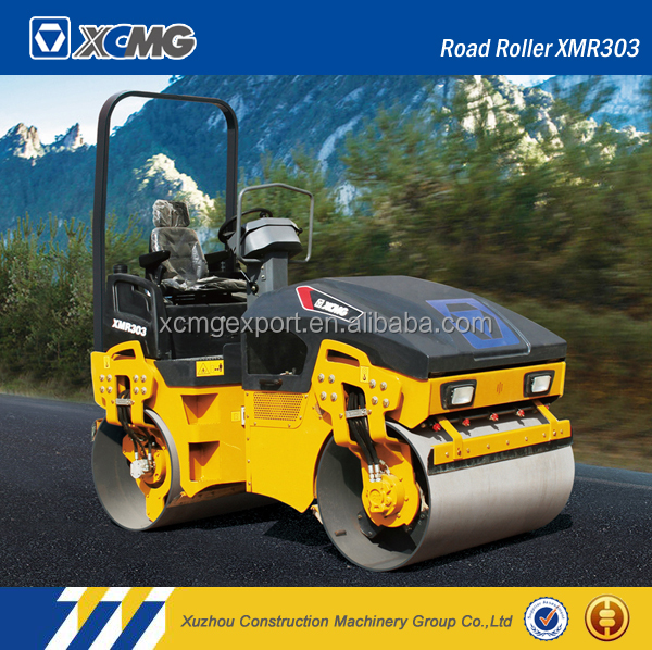 XCMG XMR403 road roller with parts