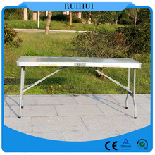 outdoor portable foldable aluminum picnic table wholesale