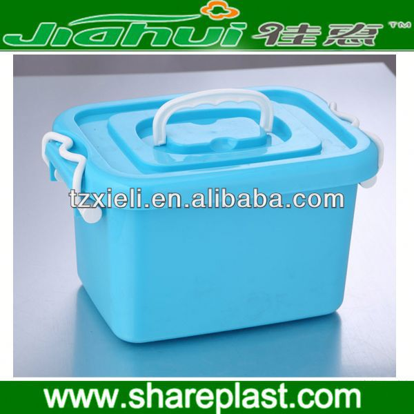 2013 Hot large plastic garden storage box