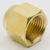 Copper flare nut and union ring short forged nut for automobile industry
