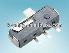 1p2t Mini smd momentary slide switch