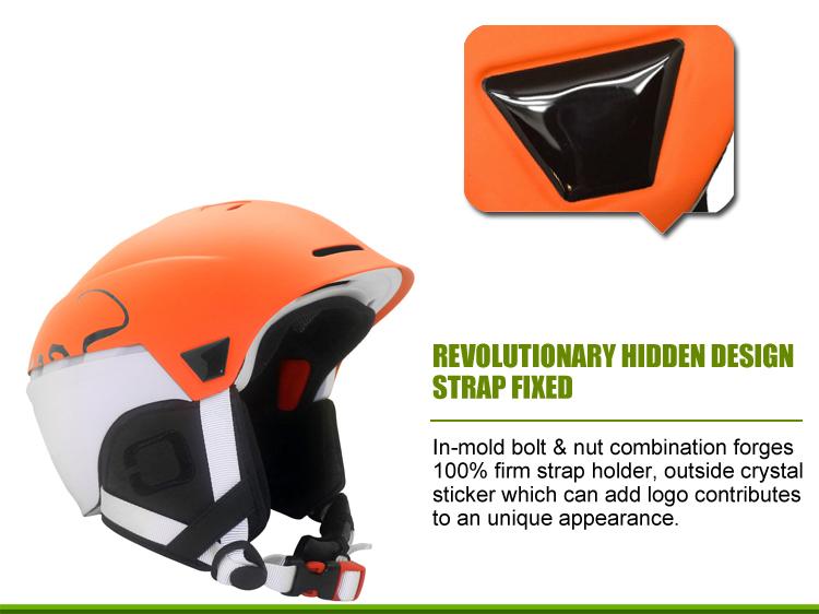 Multyfunctional Carbon Fiber Ski Helmet 3
