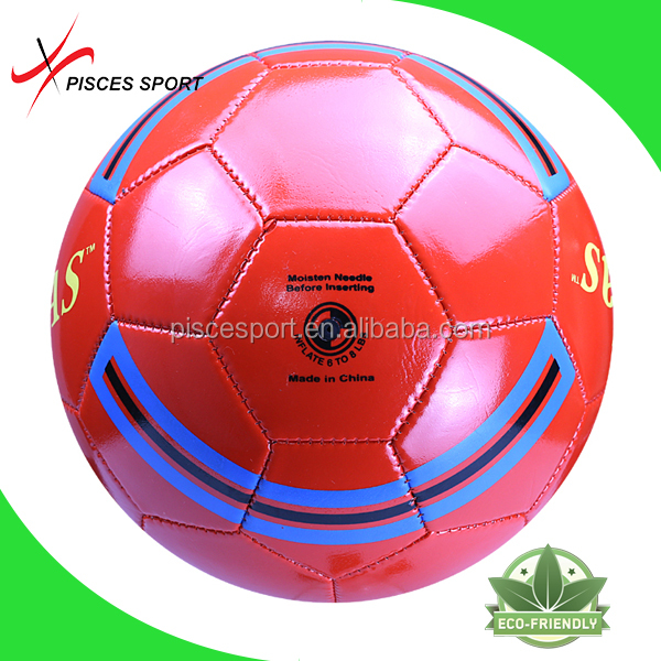 Pisces raw materials wholesale soccer ball with good apperance