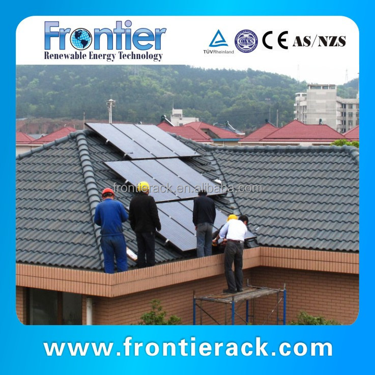 Tile Roof Solar Panels Mounting Brackets for sales
