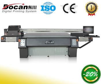 Docan Digital Flex Banner Printing Machine Price UV Flatbed Printer
