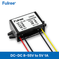Fulree DC DC Converter Reducer Buck 36V48V(8-55V) to 5V 1A/2A/3A Step Down Power Supply