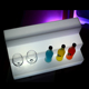High quality large acrylic led light display countertop with 110v power made in China