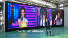 foxgolden best price P5 indoor full color transparent led display