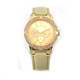 Fashion fake diamond lady slim stone stainless steel case back chrono diamond watch