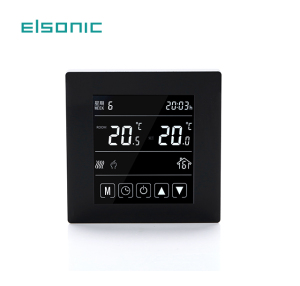 temperature controller 5-2 programmable 12v controlled heater wifi room  temperature for boiler touch screen thermostat