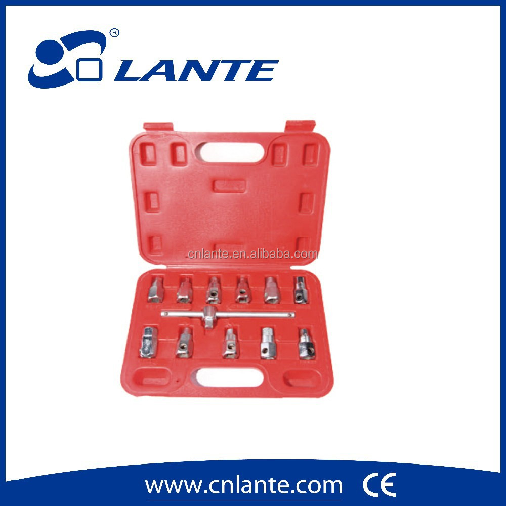 Auto Repair 12 PCS Quadrilateral And Oil Drainer
