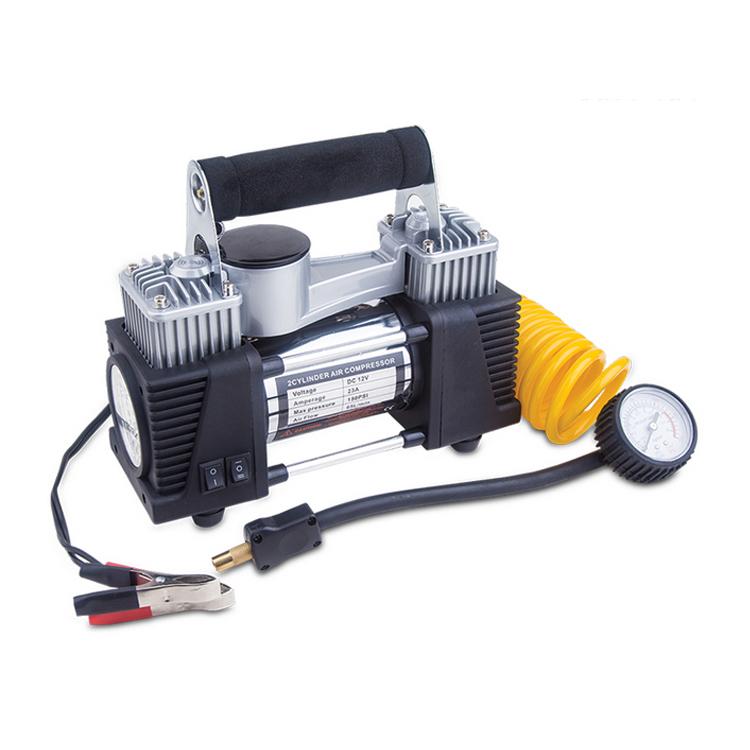 Sanitär Dc 12 V 150 Psi Zylinder Luft Kompressor Pumpe Elektrische Auto Reifen Inflator Kits Für Auto Notfall Heavy Duty