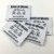 Custom good quality garment woven labels and sizes tag for clothing