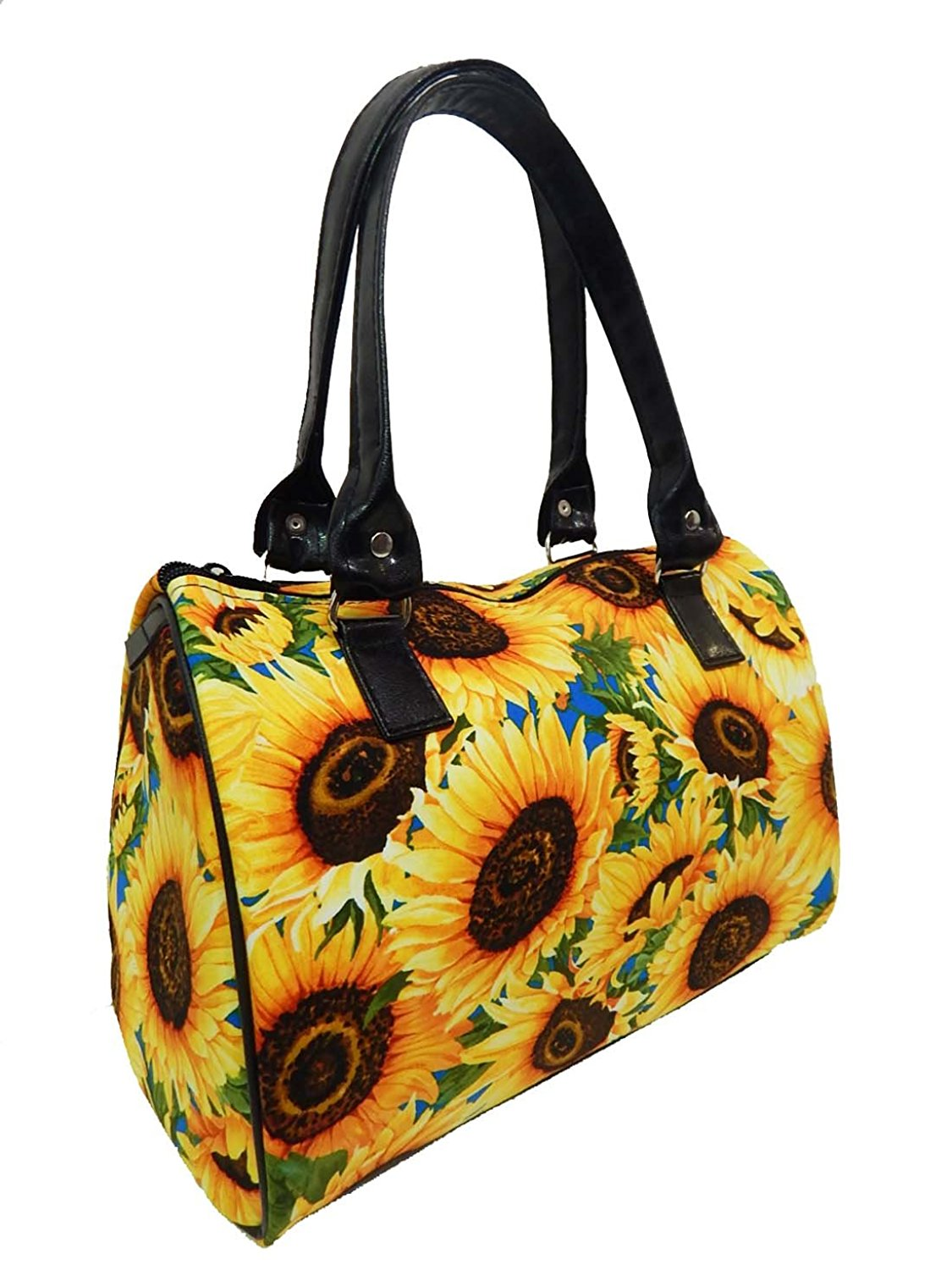 Cheap Doctor Bag Style Find Deals On Line At Bowling Handbag Get Quotations Us Handmade Fashion Sunflowers Pattern Satchel Cotton New