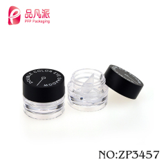 exquisite plastic cosmetic empty cream jars container cutting cap face cream jar for sale