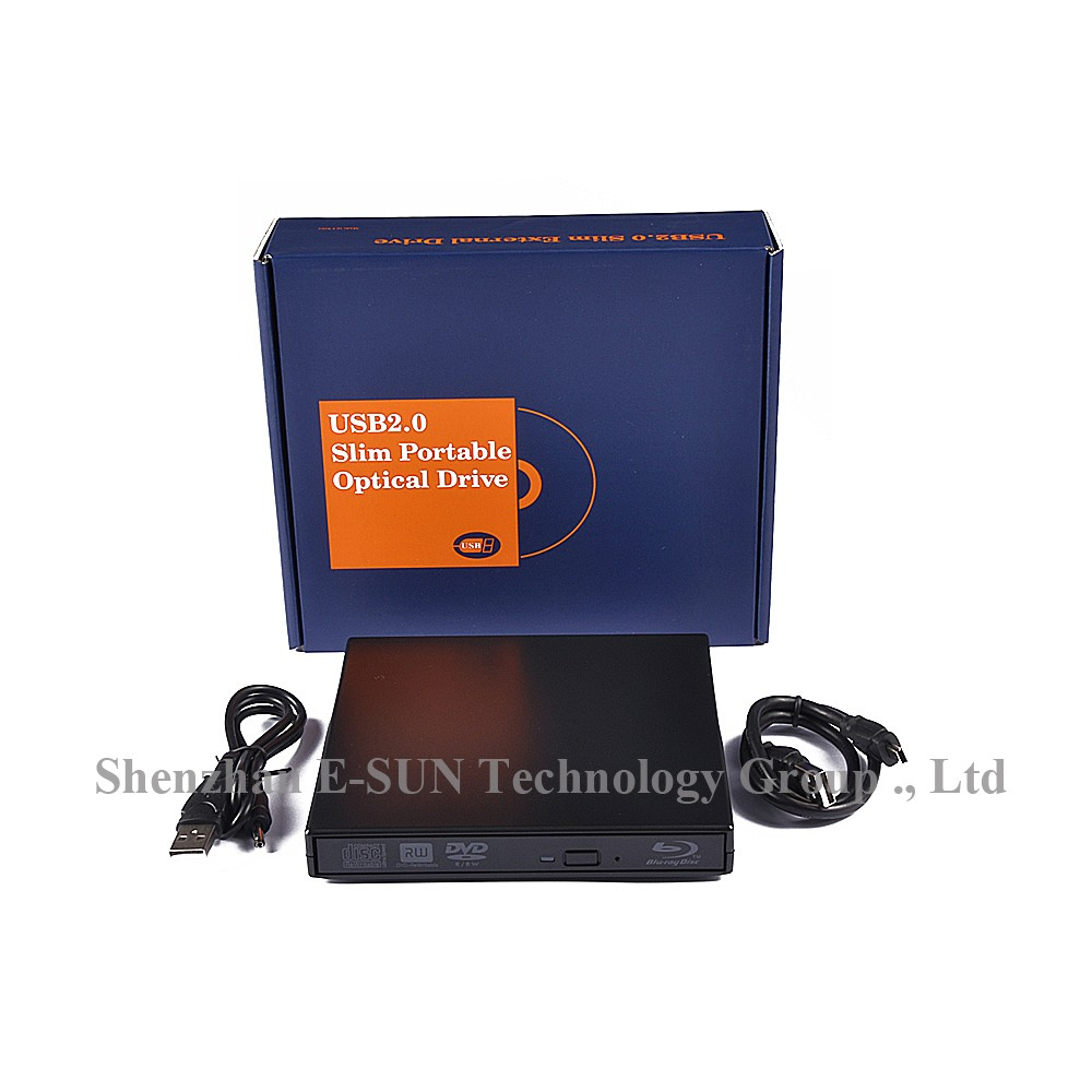 USB 3.0 DVD Player Bluray Burner External Optical Drive BD-RE Blu-ray Superdrive CD/DVD RW Writer