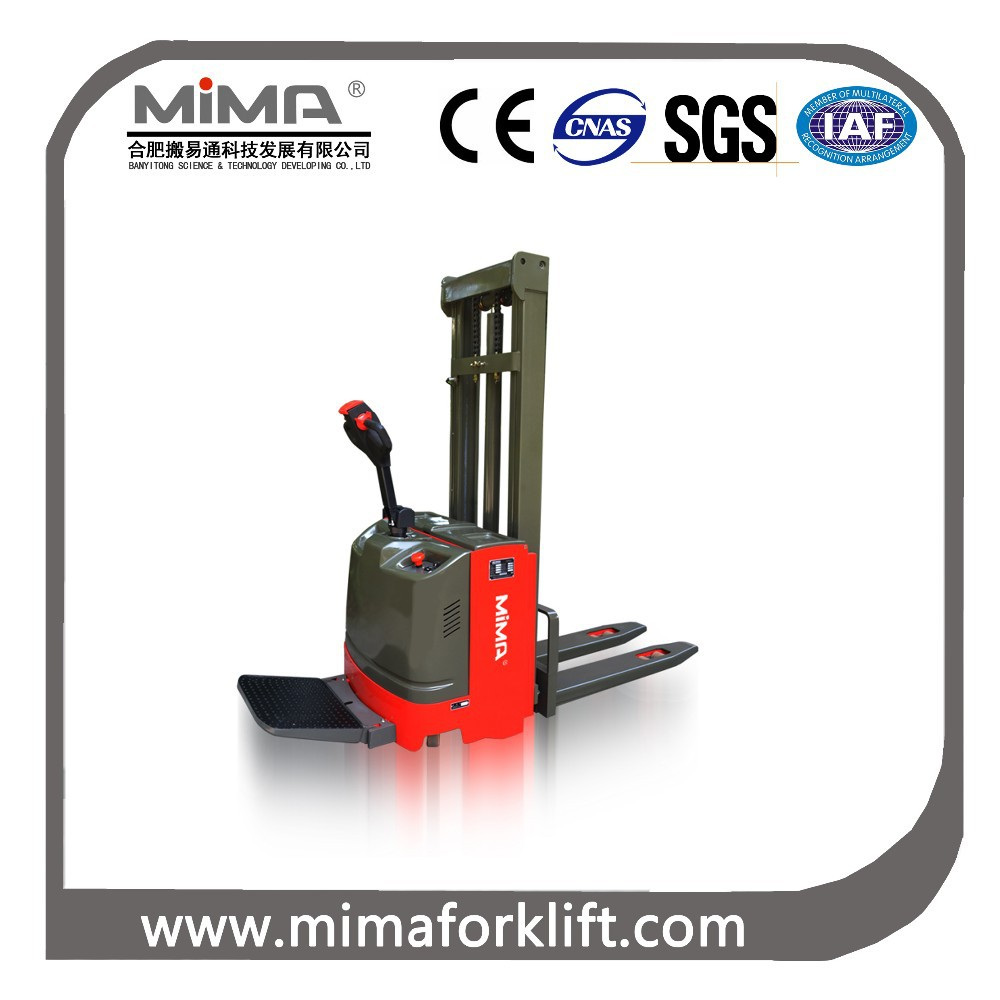 MIMA Electric stacking forklift For sale