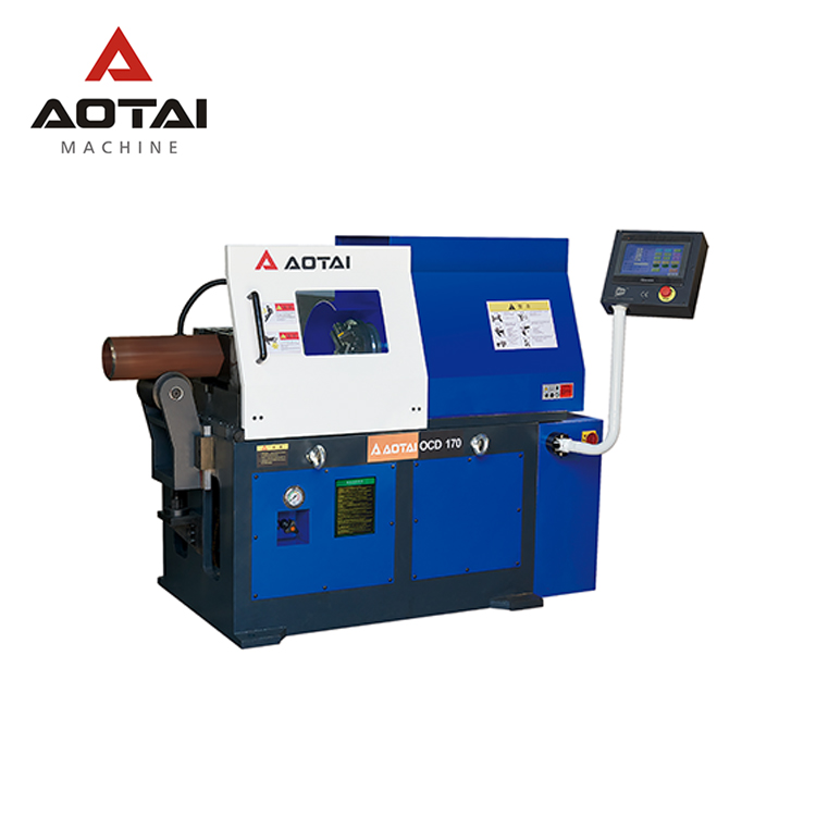 AOTAI <strong>MANUFACTURING</strong> OCD-170 25.4-168 MM AUTOMATIC STATIONARY HIGH SPEED PIPE FACING BEVELING MACHINE