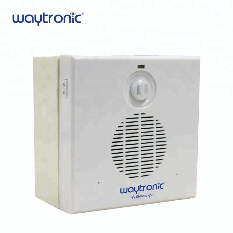 Corridor Welcome Volume Adjustable AC 220V DC 12V Industrial Wired Induction Doorbell with USB Port