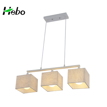 Wholesale home deco 3 lights e27 fabric pendant lightmodern cloth wholesale home deco 3 lights e27 fabric pendant lightmodern cloth cover chandelier lamp mozeypictures Images