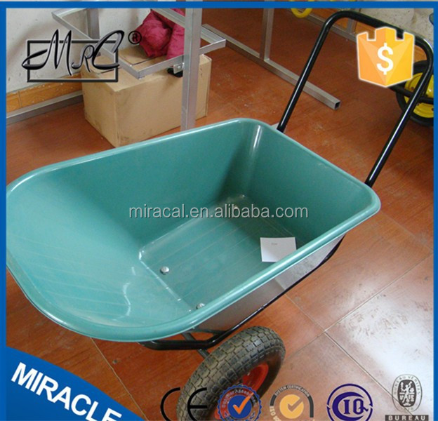 alibaba express cheap wheelbarrow WB3500 heavy duty transport roller trolleys