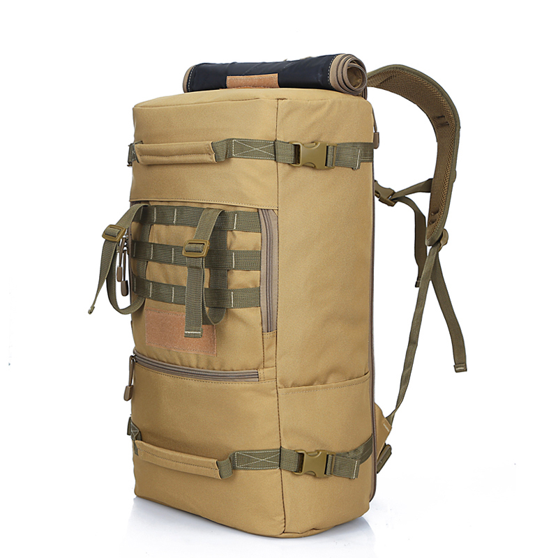 a70ea8af5d30 multifunctional adventure assault Hiking Trekking bag Molle Camo Army  Camouflage Survival Waterproof Tactical Military Backpack