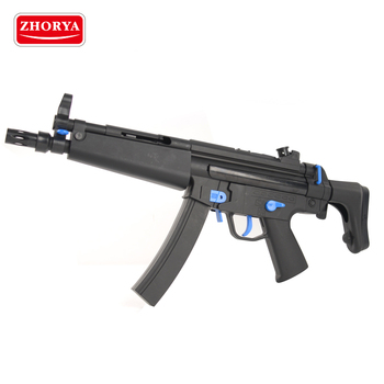 Zhorya plastic mp5 battery power gel ball crystal water bullet toy gun