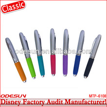 Disney factory audit manufacturer's keychain banner pen 142183