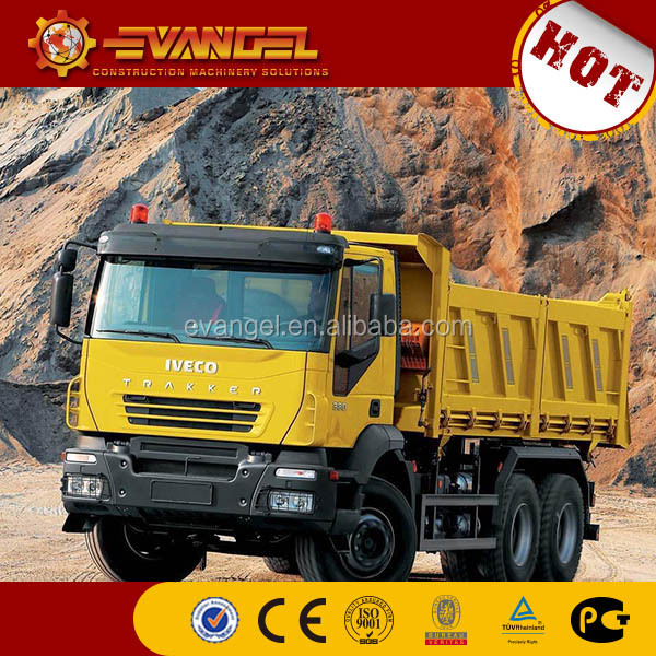 15 ton dump truck IVECO brand dump truck with crane dump truck radiator for sale