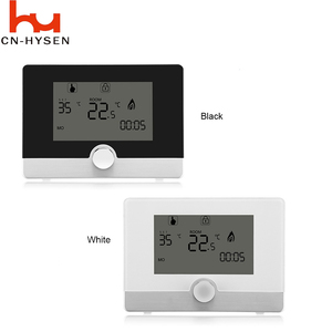 HYSEN Wired Digital Room Thermostat for Gas Boiler Heating Thermostat 5A Blue Backlight Programmable Boiler Thermoregulator