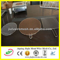 Anping galvanized/ stainless steel crimped barbecue grill wire mesh / crimped wire mesh