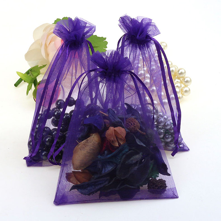 f58d3b56727 Get Quotations · 11x16cm Organza Bags Deep Purple Wedding Favor Gift Bags  Jewelry Packaging Bags Beads Bolsas De Organza