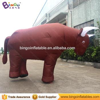 c5af926165f Géant Gonflable Taureau Taureau Gonflable Costume de Mascotte à vendre ...